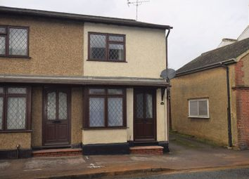 Thumbnail 2 bed end terrace house for sale in Squires Place, High Street, Toddington, Dunstable