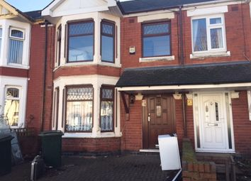 Thumbnail 4 bed terraced house to rent in Siddeley Avenue, Coventry