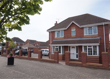 Thumbnail 4 bed detached house for sale in Mark Antony Drive, Warwick