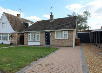 Thumbnail 2 bed detached bungalow for sale in Chestnut Drive, Thorney, Peterborough