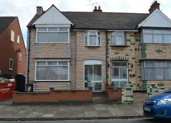 Thumbnail 4 bedroom semi-detached house for sale in Horston Road, Evington, Leicester