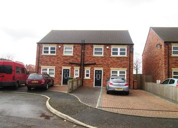 Thumbnail Semi-detached house for sale in 1-4 Foxglove Close Off Somervell Road, Scunthorpe, Lincolnshire