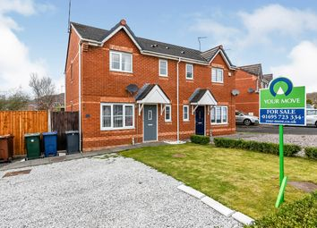 Thumbnail 3 bed semi-detached house for sale in Mercury Way, Skelmersdale, Lancashire