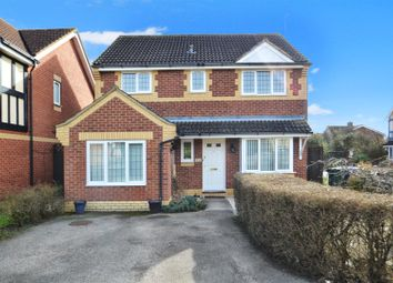 Thumbnail 4 bed detached house for sale in Merganser Drive, Bicester