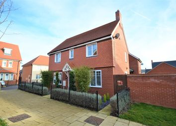 Thumbnail 3 bed detached house for sale in Einstein Walk, Duston, Northampton