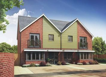 Thumbnail 3 bed town house for sale in The Maple At Springhead Park, Wingfield Bank, Northfleet, Gravesend