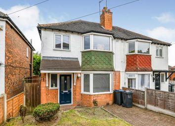 Thumbnail 3 bed semi-detached house for sale in Neville Road, Erdington, Birmingham, West Midlands