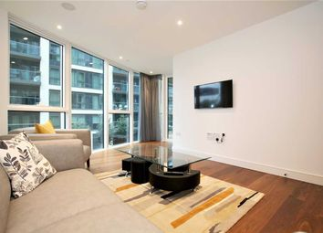 Thumbnail 2 bed flat to rent in Pinnacle House, Battersea Reach, Battersea