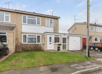 Thumbnail 3 bed semi-detached house for sale in The Parklands, Hullavington, Chippenham