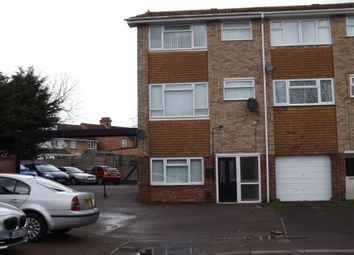 Thumbnail 3 bed terraced house to rent in Woodstock Road, Bedford