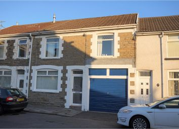 Thumbnail 4 bed terraced house for sale in Railway Terrace, Bargoed