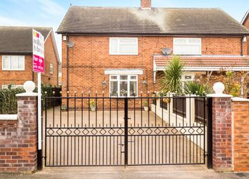 Thumbnail 3 bed semi-detached house for sale in Milverton Road, Arnold, Nottingham