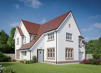 "Thumbnail 5 bedroom property for sale in ""The Lowther"" at Dalmahoy Crescent, Balerno"