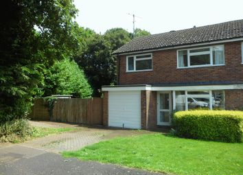 Thumbnail 3 bed semi-detached house to rent in Byfields Road, Kingsclere, Newbury