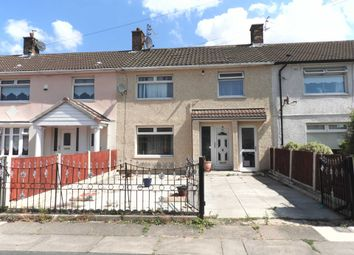 Thumbnail 3 bedroom terraced house for sale in Mosslawn Road, Kirkby, Liverpool