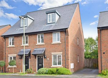 Thumbnail 3 bed semi-detached house for sale in St. Jacques Way, Denmead, Waterlooville, Hampshire