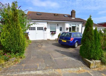 Thumbnail 4 bed bungalow for sale in Hillside Road, North Sompting, West Sussex