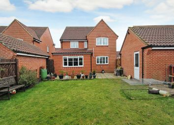 Thumbnail 5 bedroom detached house for sale in Beckside, Horsford, Norwich