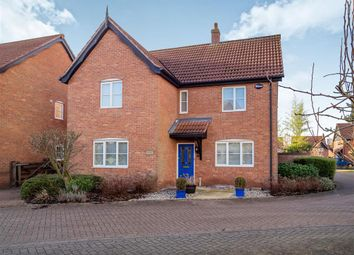 Thumbnail 4 bed detached house for sale in Breeze Avenue, Aylsham, Norwich