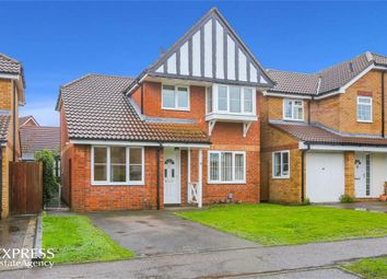Thumbnail 3 bed detached house for sale in Kristiansand Way, Letchworth Garden City, Hertfordshire