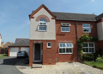 3 bed semi-detached house to rent in Durham Close, Bracebridge Heath, Lincoln LN4
