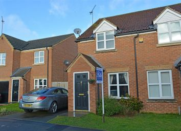 Thumbnail 2 bed semi-detached house for sale in Oakwell Close, Scunthorpe