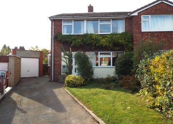 Thumbnail 3 bed semi-detached house for sale in St. Chads Close, Denstone, Uttoxeter, Staffordshire