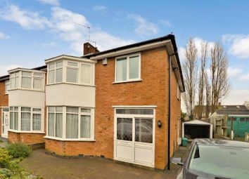 Thumbnail 3 bed semi-detached house to rent in Rosemead Drive, Oadby, Leicester