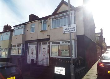 Thumbnail 3 bed end terrace house for sale in Saville Road, Liverpool, Merseyside, England
