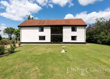Thumbnail 4 bed barn conversion for sale in Horham, Eye, Suffolk