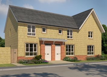 "Thumbnail 3 bed semi-detached house for sale in ""Forbes 1"" at Manse Road, Stonehouse, Larkhall"