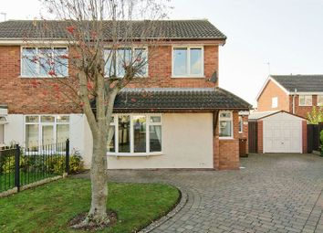 Thumbnail 3 bed semi-detached house to rent in Foxhill Close, Heath Hayes, Cannock