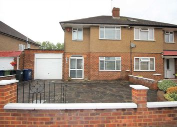 Thumbnail 3 bed semi-detached house to rent in Nutfield Gardens, Yeading, Hayes