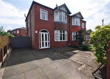 Thumbnail 3 bed semi-detached house for sale in Christleton Avenue, Heaton Chapel, Stockport, Greater Manchester