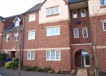 Thumbnail 2 bedroom flat for sale in Caroline Court, Burton-On-Trent, Staffordshire