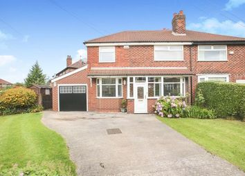 Thumbnail 4 bed semi-detached house for sale in Windermere Road, Stockport, Greater Manchester