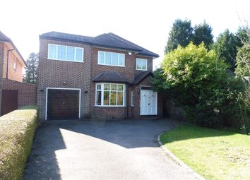 Thumbnail 4 bed detached house to rent in Dorchester Road, Solihull