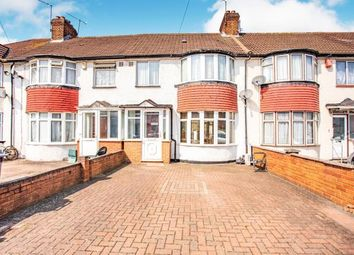 Thumbnail 3 bed terraced house for sale in Monks Park, Wembley, London, Uk