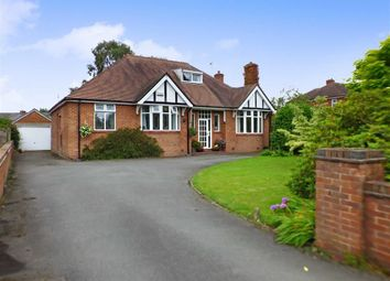 Thumbnail 4 bed detached bungalow for sale in Offley Road, Sandbach