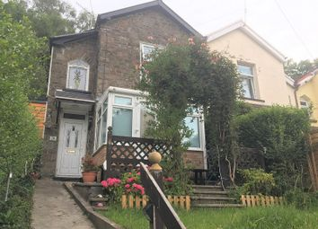 Thumbnail 2 bed semi-detached house for sale in Pleasant View, Pentre, Rhondda Cynon Taff.