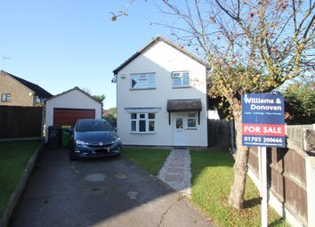 Thumbnail 3 bed detached house for sale in Romsey Close, Hockley
