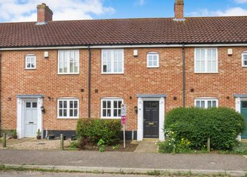 Thumbnail 2 bed terraced house for sale in Bromedale Avenue, Mulbarton, Norwich