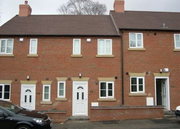Thumbnail 2 bed terraced house to rent in Watling Street, Two Gates, Tamworth, Staffordshire