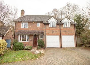 Thumbnail 4 bed detached house for sale in Clere Gardens, Chineham, Basingstoke
