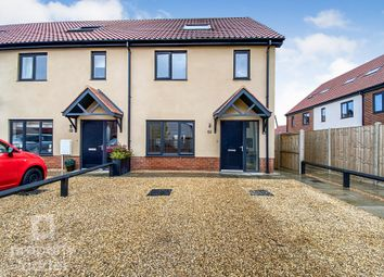 Thumbnail 4 bed end terrace house for sale in Sam Smith Way, Rackheath, Norwich