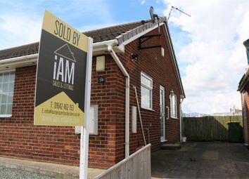 Thumbnail 1 bedroom semi-detached bungalow for sale in Churchill Road, Eston, Middlesbrough
