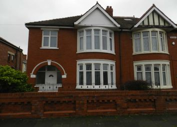 Thumbnail 3 bedroom semi-detached house to rent in Chislehurst Avenue, Blackpool