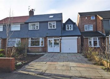 Thumbnail 5 bedroom semi-detached house for sale in Broadoak Lane, East Didsbury, Manchester