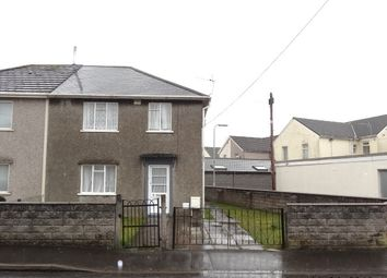 Thumbnail 3 bed semi-detached house to rent in Maesteg Crescent, Tonteg, Pontypridd