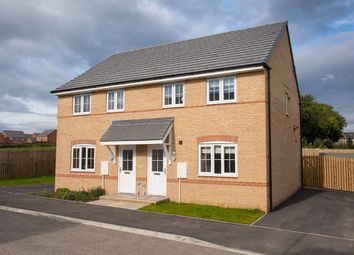 "Thumbnail 3 bed semi-detached house for sale in ""Finchley"" at Bruntcliffe Road, Morley, Leeds"